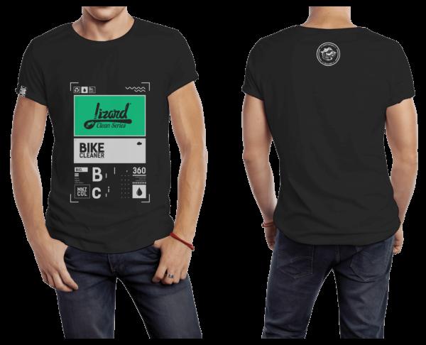Camiseta Negra Lizard