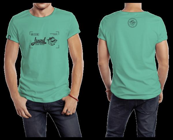 Camiseta Verde Clara Lizard
