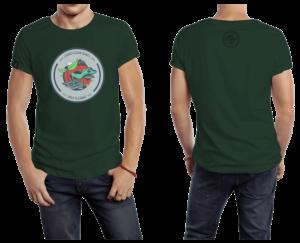 Camiseta Verde Oscura Lizard
