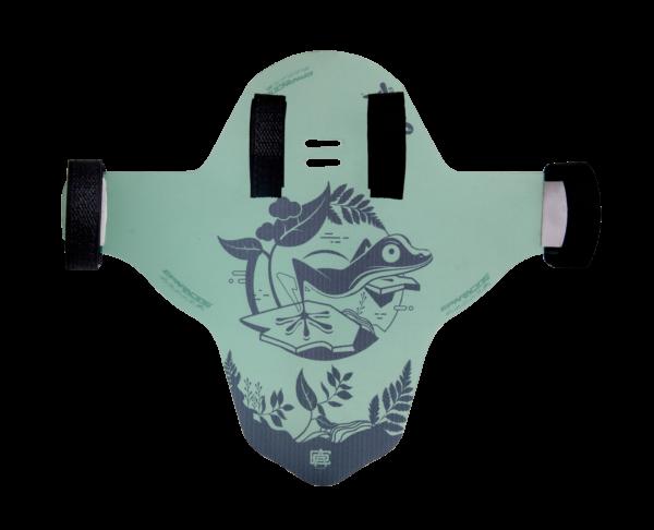 Guardabarro Traslucido Verde lizard clean series