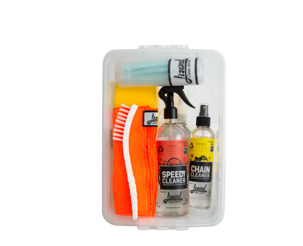 kit completo cenital lizard clean series